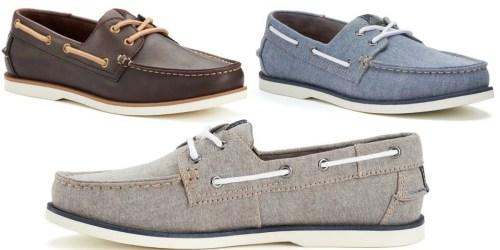 Kohl's: Sonoma Men's Boat Shoes Only $27.99 (Regularly $69.99)