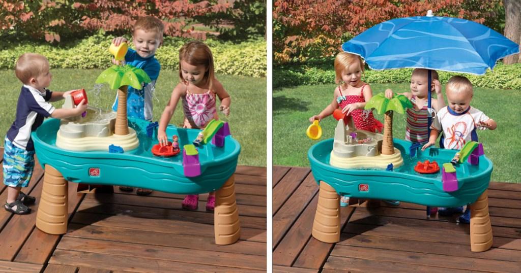 Toysrus Step2 Splish Splash Seas Water Table With Umbrella