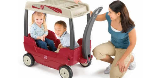 Step2 Canopy Wagon Only $70 (Reg. $120)