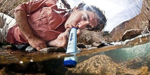 LifeStraw Portable Water Filter 3-Pack ONLY $30 Shipped (Regularly $75) – Just $10 Each