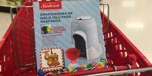 Cool Off This Summer! Snow Cone Maker Only $15.99 at Target (Regularly $30)