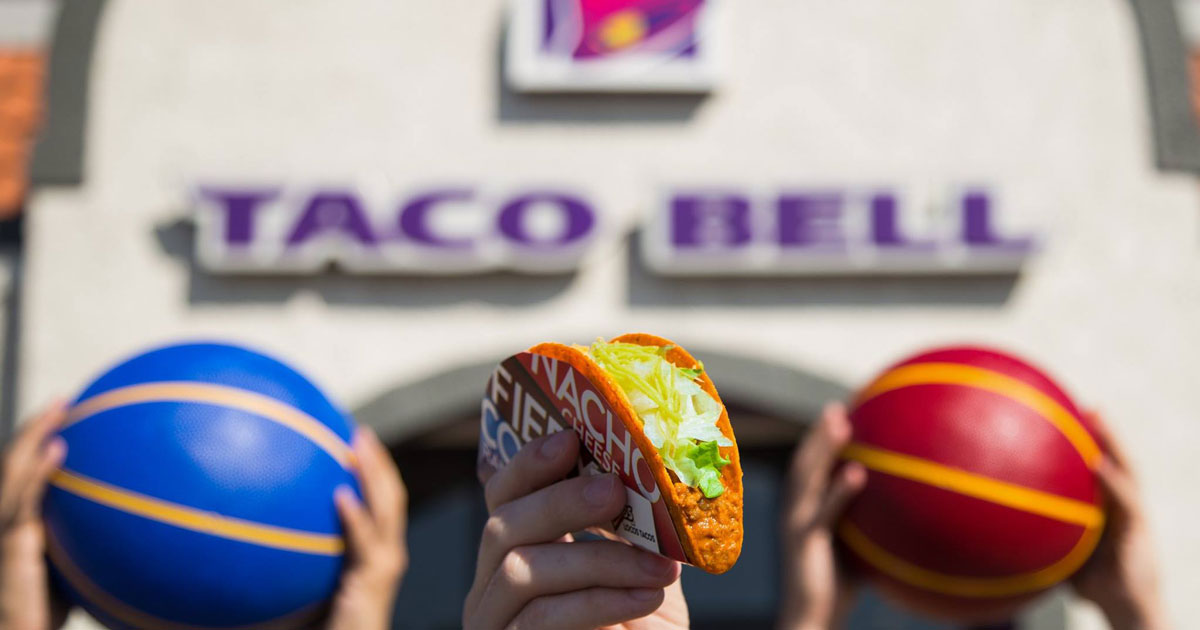 Possible FREE Doritos Locos Taco From Taco Bell During NBA Finals