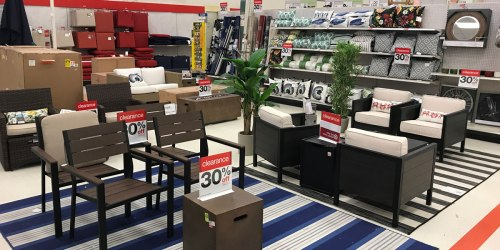 Target Shoppers! Extra 10% Off Clearance Patio Furniture, Decor & Grilling Items