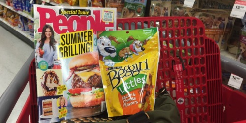 Target Shoppers! People Magazine & Purina Beggin' Strips Just $2.71 For BOTH After Gift Card