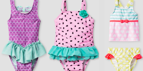 Target: Buy 1 Get 1 50% Off Swimwear = Girl's Swimsuits ONLY $8.99 Each & More