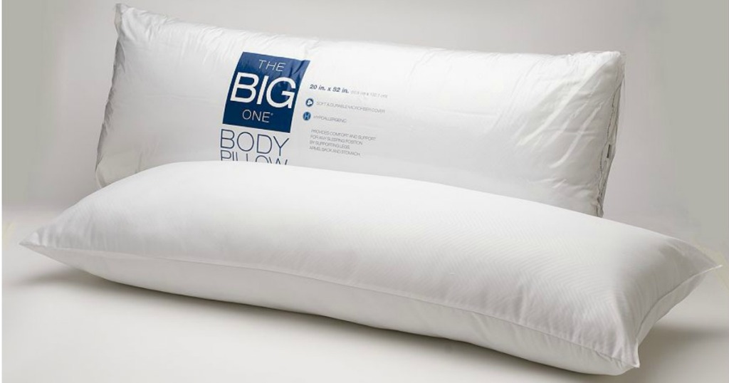 Kohl S Cardholders The Big One Body Pillow Only 6 99 Shipped