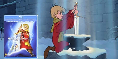 Disney's The Sword in the Stone 50th Anniversary Edition Blu-ray ONLY $9.99