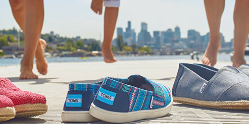 Zulily: Up to 40% Off TOMS Shoes and Accessories for the Family (Prices Start at $19.99)