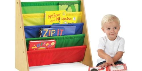 Tot Tutors Kids Book Rack Bookshelf ONLY $18.75 (Regularly $39) – #1 Best Seller