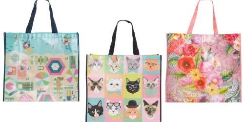 TJMaxx: FREE Shipping On Any Order = Reusable Tote Bags Just 99¢ Shipped