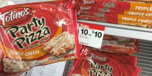 Target Shoppers! Totino's Party Pizzas ONLY 75¢ Each (Regularly $1.42)