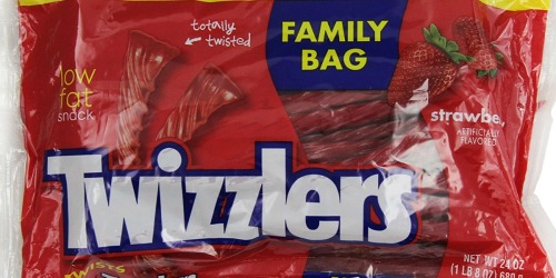 Amazon: SIX Family Size Bags of Twizzlers Only $10.68 (Just $1.78 Per HUGE Bag)