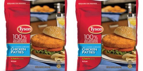 Heads Up! 2 Million Pounds of Tyson Chicken Patties Recalled For Undeclared Milk Allergen