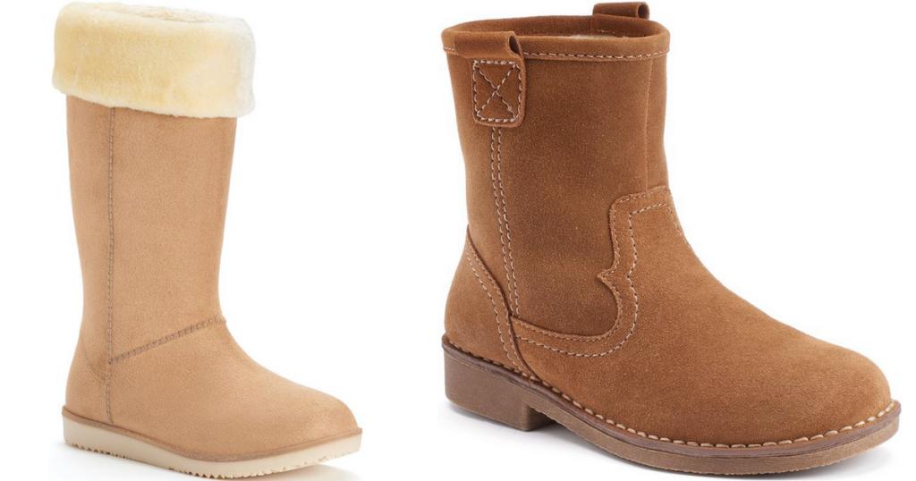 a190e08505e Kohl's Cardholders: Women's Boots Starting at $9.66 Shipped ...
