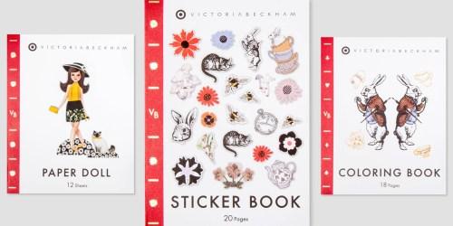 Target.com: Victoria Beckham Sticker Book Only $1.80 (Regularly $6) & More
