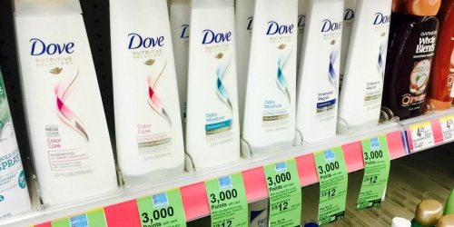 Walgreens: Select Dove & TRESemmé Hair Care Products Just $1.67 Each After Points