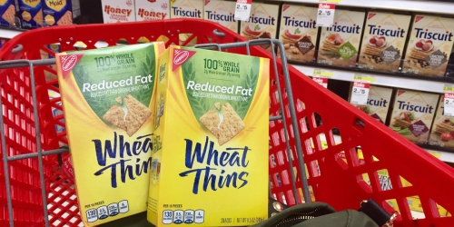 Target: Wheat Thins Crackers Only 78¢ Each (After Cash Back) & More