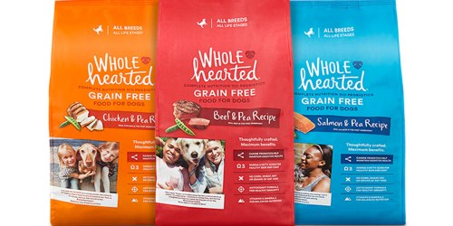 Petco Shoppers! Free 6 Pound Bag Of Whole Hearted Dog Food w/ ANY Purchase
