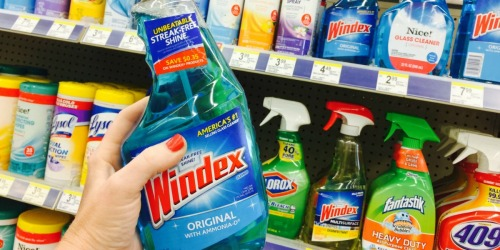 Walgreens: Windex Products as Low as $1.25 Starting 6/18 (Print Your Coupons Now)