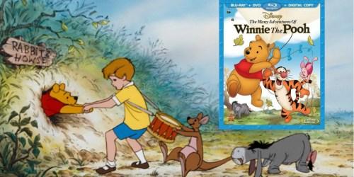 Disney's The Many Adventures of Winnie the Pooh Blu-ray+ DVD + Digital Copy Just $9.99
