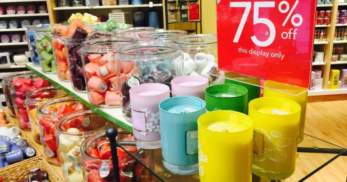 75% Off Yankee Candle Clearance Sale