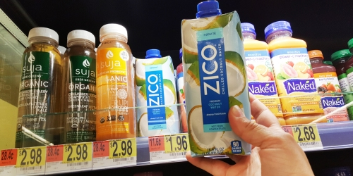 Don't Miss Out! Better Than Free Zico Coconut Water at Walmart or Target