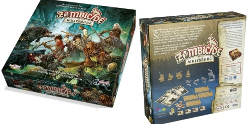 Zombicide Black Plague Wulfsburg Expansion Board Game Only $33.02 (Regularly $60)