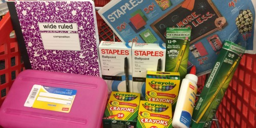 20% Off Staples In-Store Purchase for Teachers + FREE $5 Reward (You Can Help Them Earn Rewards Too!)