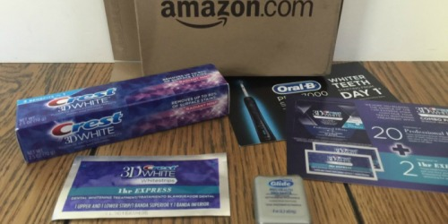 Amazon Prime: Crest 3D White Sample Kit Just $4.99 Shipped AND Score $4.99 Credit