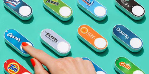 Amazon Prime: Dash Buttons Just 99¢ Shipped + Score $4.99 Credit (Colgate, FIJI Water & More)
