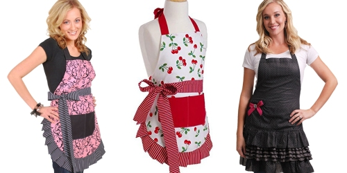 Amazon: 35% Off Flirty Aprons Coupon = Girl's Very Cherry Apron Only $10.23 & More