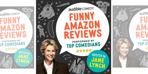 Audible.com: FREE Funny Amazon Reviews by Jane Lynch Download
