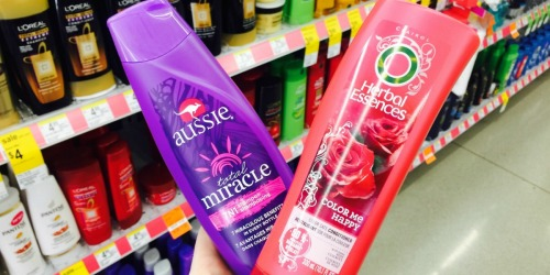 Walgreens Shoppers! Aussie & Herbal Essences Hair Care Just $1 Each After Points