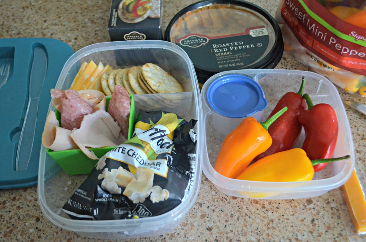 Dollar Tree Back to School hacks – bento style containers