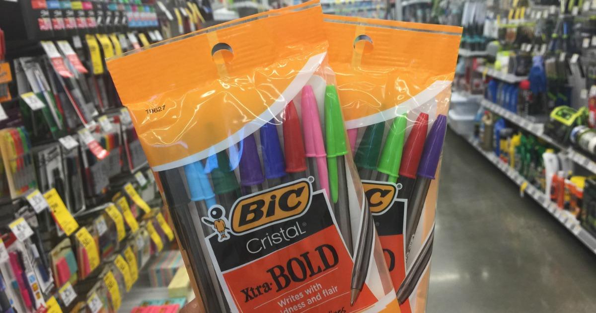 BIC Cristal Pens at Walgreens