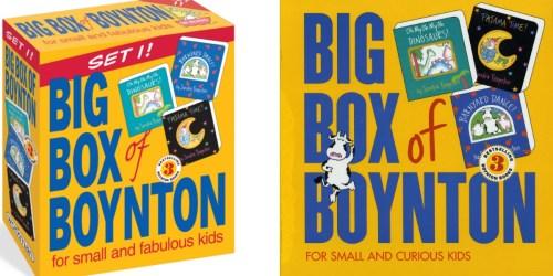 Amazon: Boynton Board Books Big Box Set ONLY $10.20 (Regularly $21)