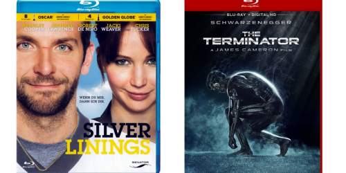Target.com: Blu-Ray Movies Only $3.67 Each (Silver Linings, Terminator & More)