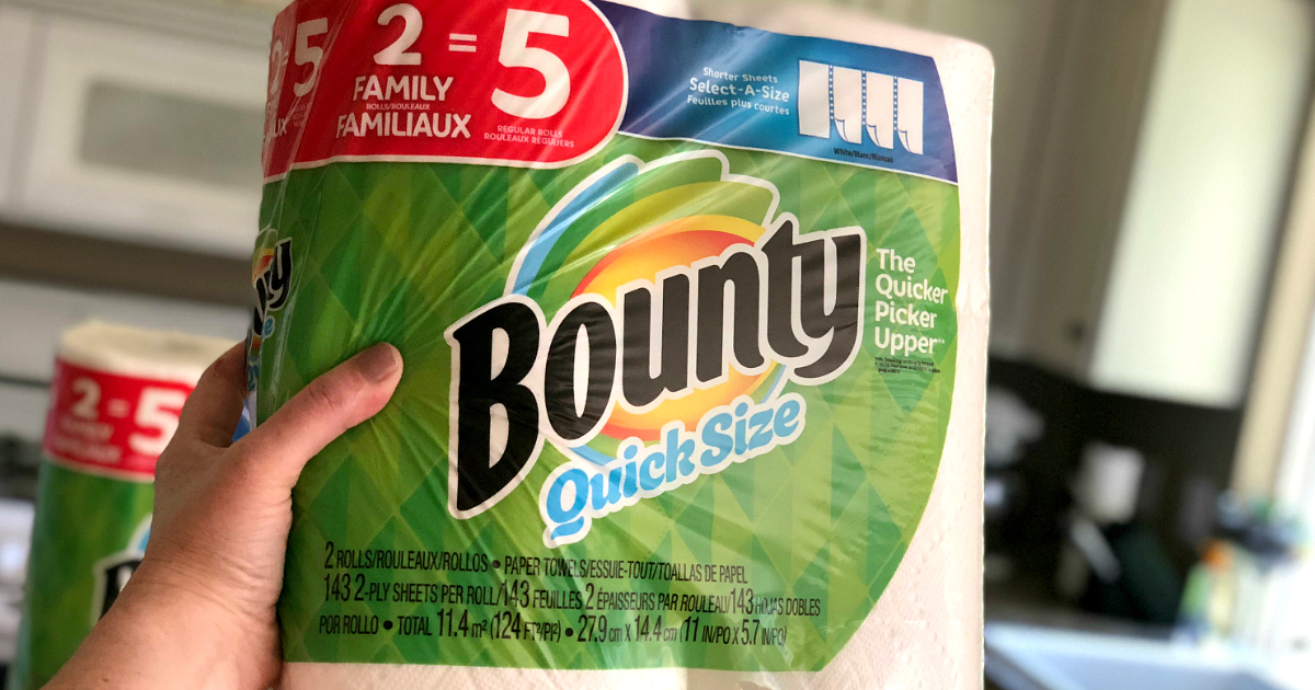 use amazons subscribe & save program (read this to get the most bang for your buck) – Bounty paper towels Amazon