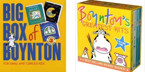 Highly Rated Sandra Boynton Board Books Only $2.21 (Regularly $6) + More