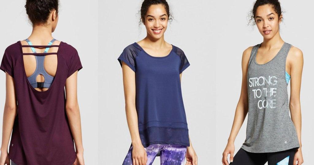 78ab62916614 Consider these deal ideas: C9 Champion Women's Sleeveless Tech T-Shirt  $12.99