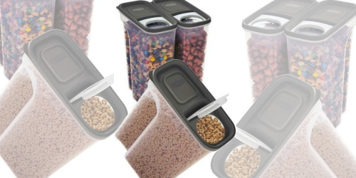Costco: Rubbermaid Cereal Keepers 3-Pack Only $8.99 Shipped (Just $3 Each)
