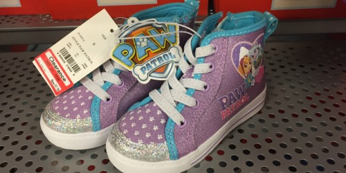 Target Kids' Apparel & Shoes Clearance = Paw Patrol Shoes Only $6.22 (Reg. $25) & More