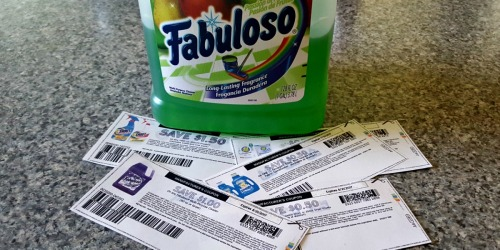Top 6 Household Coupons To Print NOW (Shout, OxiClean, Fabuloso & More)