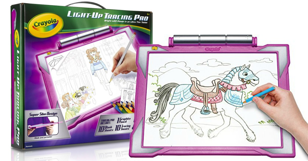 Crayola Light Up Tracing Pad Only 9 80 Regularly 20 Awesome Reviews Hip2save