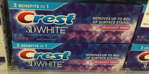High Value $2/1 Crest Toothpaste Coupon = Better Than FREE at Rite Aid After Points + More