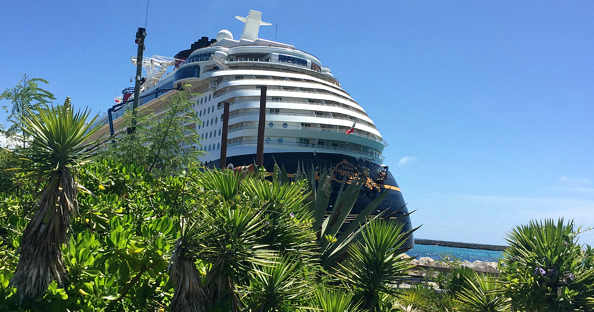 25 Tips to Save BIG on Your Next Cruise - Front of a cruise ship in port