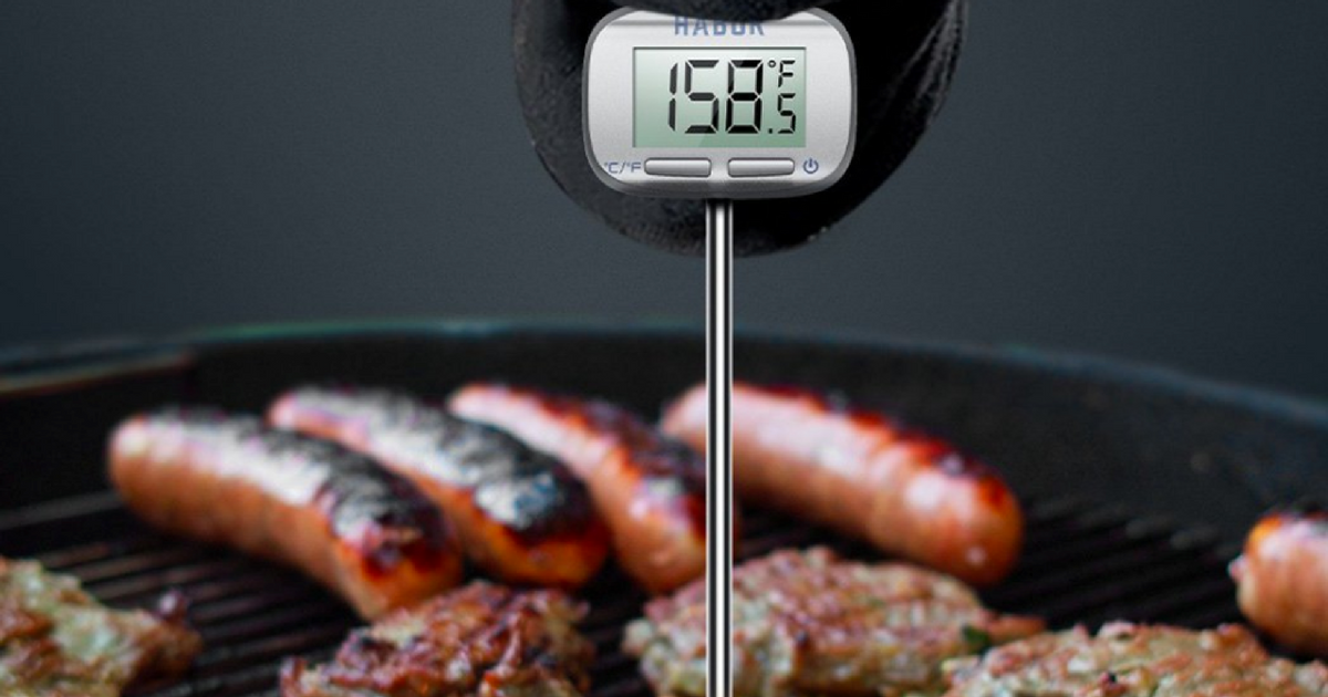 Amazon Habor Digital Meat Candy Thermometer Just 541 Hip2save