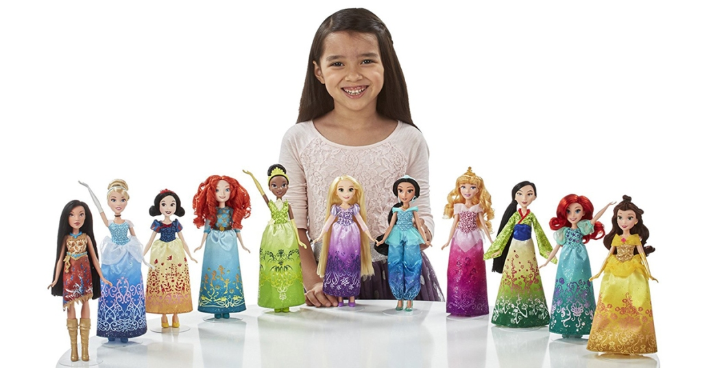 Walmart Disney Princess 11 Doll Collection Only 59 87