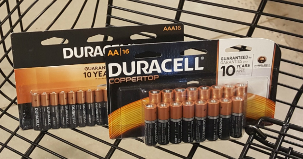 Duracell AA and AAA 16-Pack Batteries