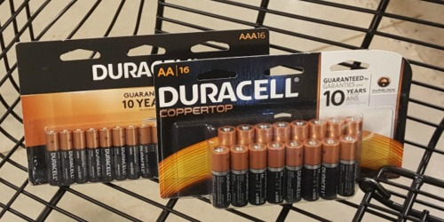 FREE Duracell Batteries 16-Count Packs After Office Depot Rewards